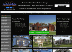 Modern house plan at website informer Better homes and gardens website australia