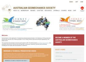 Australiangeomechanics.org thumbnail