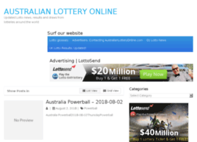 Australianlotteryonline.com thumbnail