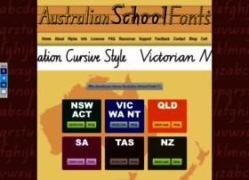 Australianschoolfonts.com.au thumbnail