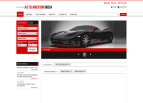 Autoauctionindia.com thumbnail
