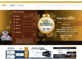 Autobusesoro.com.mx thumbnail