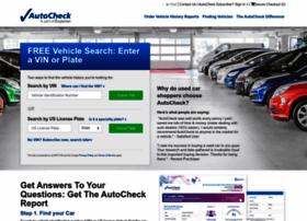 Autocheck.com thumbnail