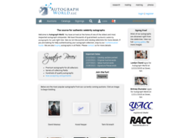 Autographworld.com thumbnail