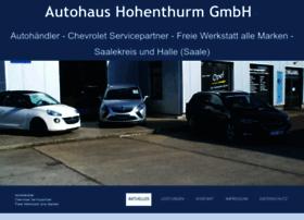 Autohaushohenthurm.de thumbnail