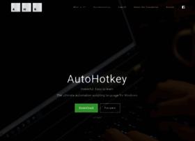 Autohotkey.com thumbnail