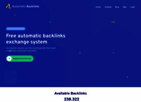 Automaticbacklinks.com thumbnail