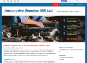 Automotivesupplies85.ca thumbnail