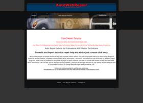 Autowebrepair.com thumbnail