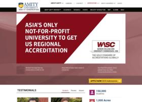 Auup.amity.edu thumbnail