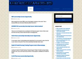 Availablelearnerships.com thumbnail