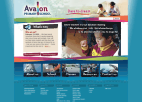 Avalon.school.nz thumbnail