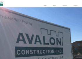 Avalonconstruction.net thumbnail