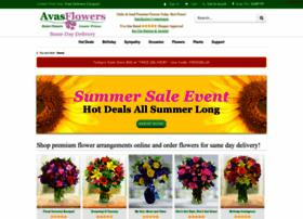 Avasflowers.net thumbnail