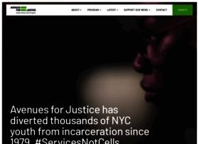 Avenuesforjustice.org thumbnail