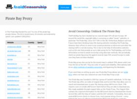 Avoidcensorship.org thumbnail