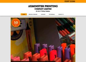 Axminsterprinting.co.uk thumbnail