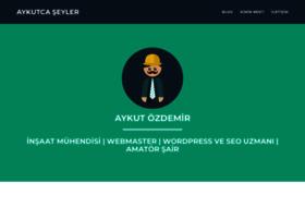 Aykutozdemir.com.tr thumbnail