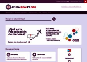 Ayudalegalpr.org thumbnail