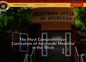 Ayurvedacollege.com thumbnail