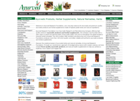 Ayurvedresearchfoundation.com thumbnail