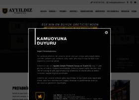 Ayyildizprefabrik.com.tr thumbnail