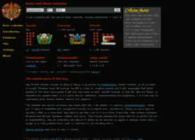 Azteccalendar.com thumbnail