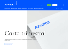 Azvalor.com thumbnail