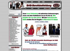 bab at wi bab berufsbekleidung seit 1998. Black Bedroom Furniture Sets. Home Design Ideas
