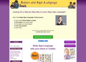 Babies-and-sign-language.com thumbnail