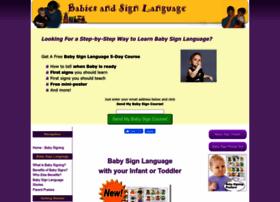 Babies-and-sign-language.com thumbnail