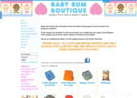 Babybumboutique.co.uk thumbnail