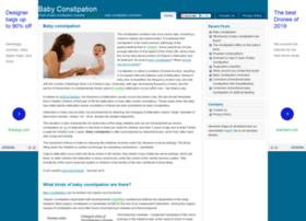 Babyconstipation.org thumbnail