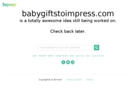 Babygiftstoimpress.com thumbnail