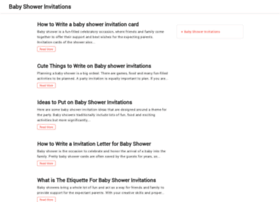 Babyshowerinvitations.org thumbnail