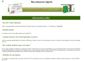 Bac-algerie.net thumbnail