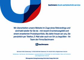 Bachmann-druck.de thumbnail