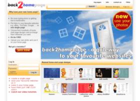Back2homepage.com thumbnail