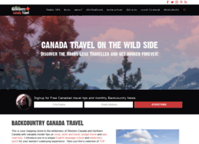 Backcountrycanadatravel.com thumbnail