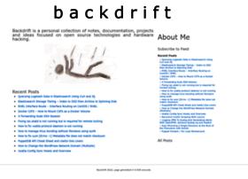 Backdrift.org thumbnail