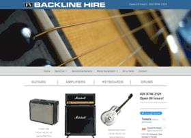 Backline-hire-london.co.uk thumbnail