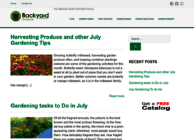Backyardgardener.com thumbnail