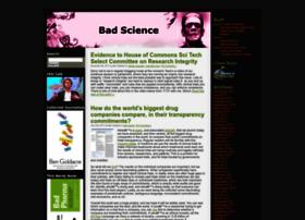 Badscience.net thumbnail