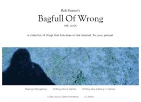 Bagfullofwrong.co.uk thumbnail