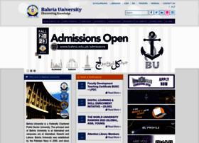 Bahria.edu.pk thumbnail