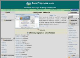 Bajaprograma.com thumbnail