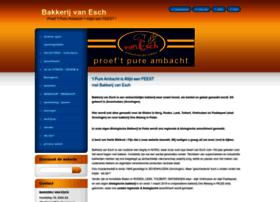 Bakkerijvanesch.nl thumbnail