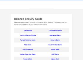 Balanceenquiry.online thumbnail