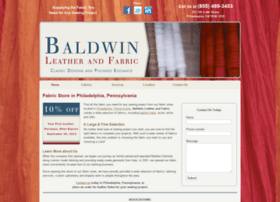 Baldwinleatherandfabric.biz thumbnail