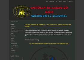 Balingen-karate-do.de thumbnail